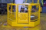 Fabrication of Telehandler Work Baskets